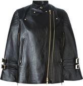 Givenchy biker style cloak