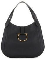 Salvatore Ferragamo Perrine leather hobo bag