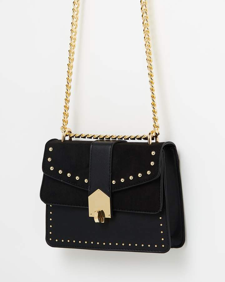 Topshop Shelby Stud Buckle Cross-Body