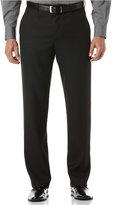 Perry Ellis Portfolio Big and Tall Classic-Fit Sharkskin Dress Pants