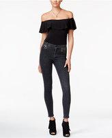 Hudson High-Waist Super-Skinny Jeans