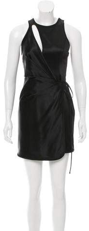 Alexander Wang Satin Cutout Dress w/ Tags