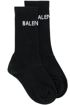 Balenciaga Logo Knit Socks
