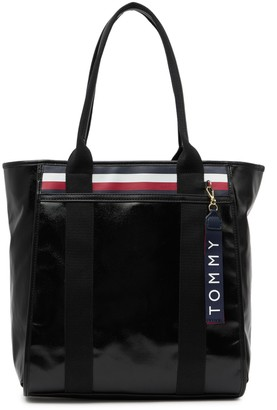 Tommy Hilfiger Viola Coated Canvas Tote Bag