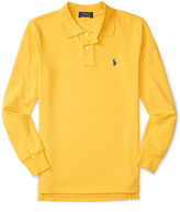 Ralph Lauren Mesh Long-Sleeve Polo