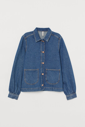 H&M Denim shirt jacket
