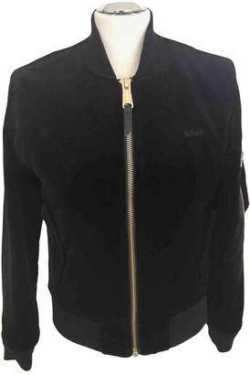 Schott Blue Velvet Jacket for Women