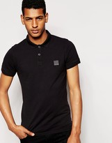Boss Orange Polo Shirt With Logo In Slim Fit