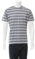 Ermenegildo Zegna Striped Crew Neck T-Shirt