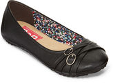 POP Nelly Double-Buckle Ballet Flats in Wide Width