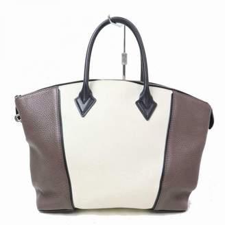Louis Vuitton Lockit Grey Leather Handbags