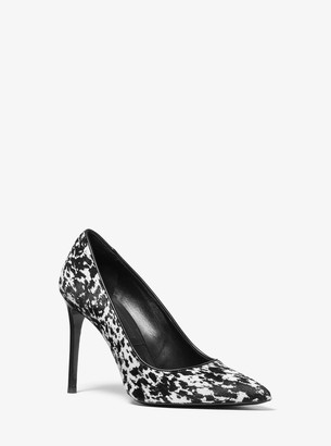 Michael Kors Collection Gretel Speckled Pony Print Calf Hair Pump