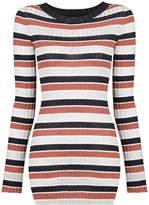 Apiece Apart striped slim fit sweater