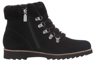 Blondo Rachel Waterproof Suede Faux Fur Lined Lace Up Hiker Boot (Women's)