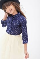Forever 21 Calico Western Shirt (Kids)