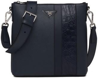Prada Saffiano bandoleer shoulder bag