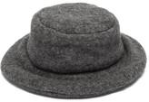 Reinhard Plank Hats - Contadino Padded Wool Bucket Hat - Womens - Grey