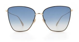 Christian Dior Oversized Square Frame Sunglasses