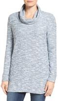 Caslon Knit Cowl Neck Tunic (Petite)
