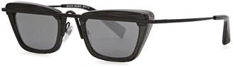 Alain Mikli Black Square-frame Sunglasses