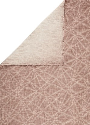 Broste Copenhagen - Old Pink Cotton Lea Throw - cotton | old pink - Old pink