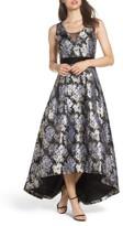 Eliza J Women's Jacquard High/low Gown