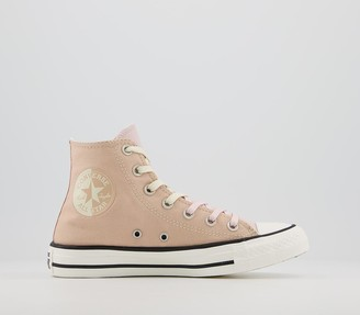 Converse All Star Hi Trainers Barley Shimmer Barely Rose Exclusive