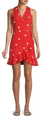 Rails Madison Polka-Dot Wrap Dress