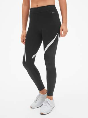 Gap GapFit Blackout Shine Spliced Full Length Leggings