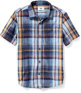 Old Navy Madras Plaid Shirt for Boys