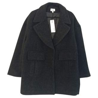 Bel Air Anthracite Wool Coats