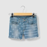 Le Temps Des Cerises Cotton Denim Shorts, 8 - 16 Years