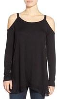 Ella Moss Women's Cold Shoulder Long Sleeve Top