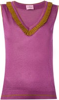 D'enia - knitted tank top - women - Nylon/Polyester/Acetate - S