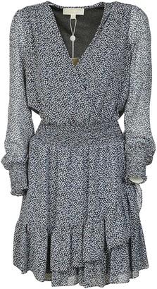 Michael Kors V-neck Asymmetric Dress