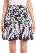 Milly Kayla Pleated Skirt