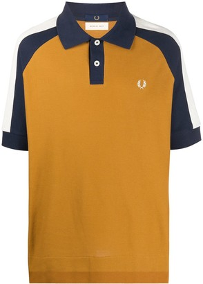 Fred Perry Color-Block Polo Shirt