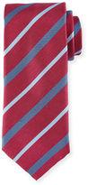 Brioni Textured Multi-Stripe Tie
