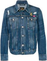Vivienne Westwood distressed denim jacket