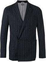 Giorgio Armani striped blazer - men - Elastodiene/Acetate/Viscose/Virgin Wool - 48