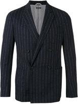 Giorgio Armani striped blazer - men - Elastodiene/Virgin Wool/Acetate/Viscose - 48