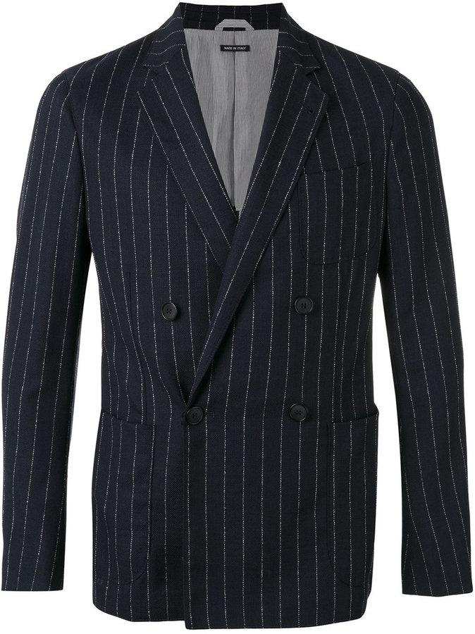 Giorgio Armani striped blazer