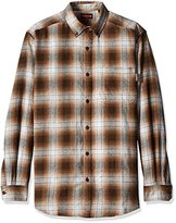 Wolverine Men's Big and Tall Hammond Long Sleeve Two Sided Brushed Flannel Shirt