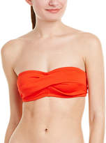 Shoshanna Twisted Bandeau Top