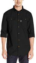 Carhartt Men's Long Sleeve Solid Work Shirt