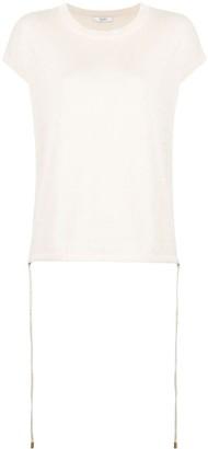 Peserico Maglia drawstring-hem T-Shirt