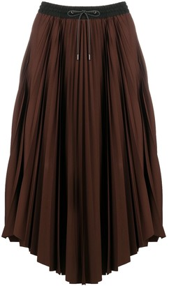 Fabiana Filippi Drawstring Pleated Skirt