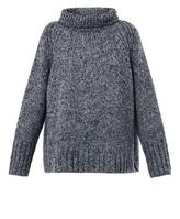 Vanessa Bruno Mohair tweed oversized sweater