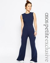 Asos Casual Jumpsuit in Chunky Rib