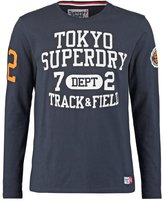 Superdry Trackster Long Sleeved Top Truest Navy